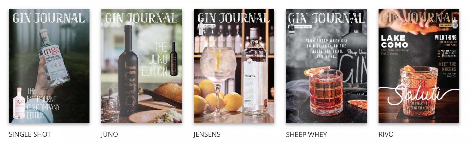 Gin Society Gin Journals