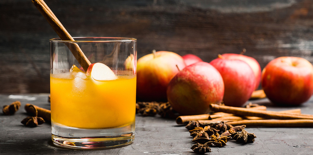She's apples with these 5 Autumn Cocktails.