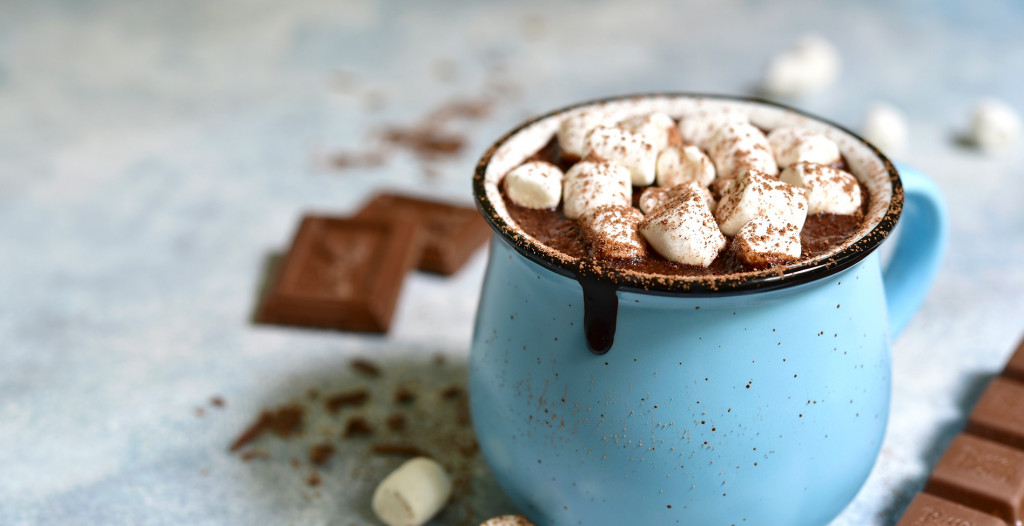 Gin Spiked Hot Chocolate