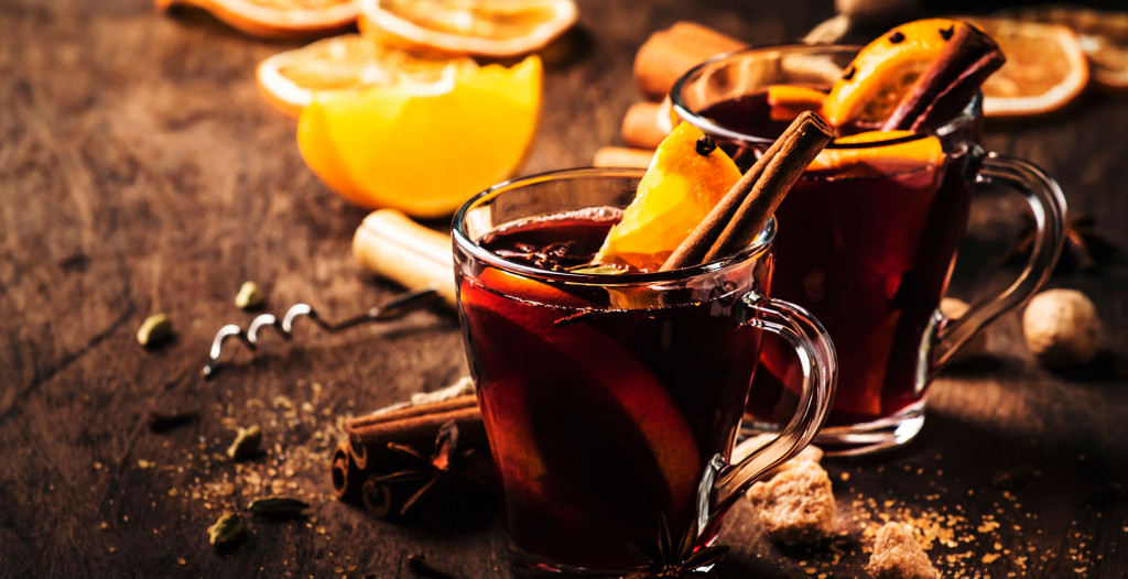 Gin Mulled Wine