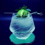 Gin and Tonic with Coconut Water