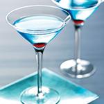 blue sapphire martini