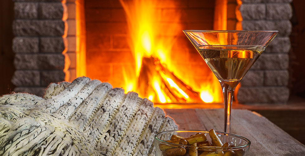 Warming gins perfect for sipping by the fire
