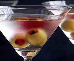 Martha Stewart's Eyeball Martini
