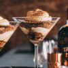 Tiramisu with gin